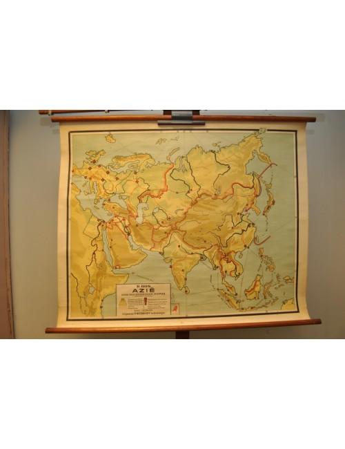 Vintage kaart Azië 8