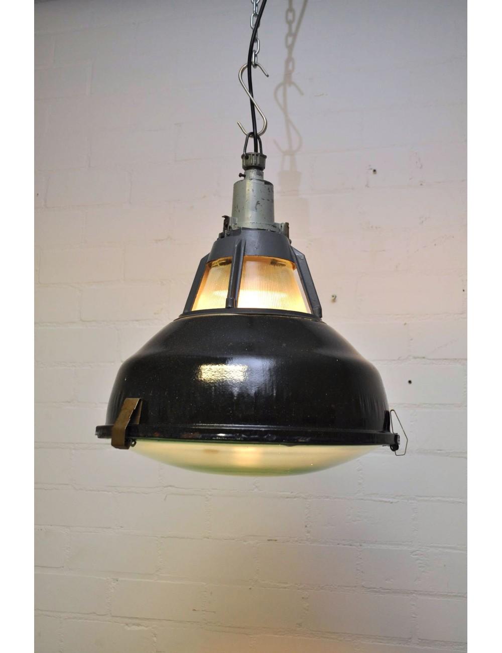 Lamp bovenlicht + bol glas