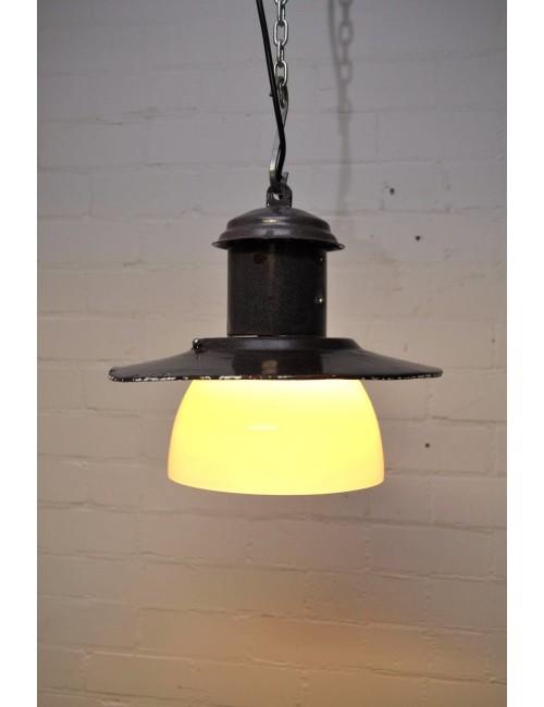 Vintage lampen bruin