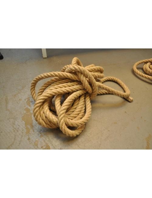 Vintage touw 9 mtr